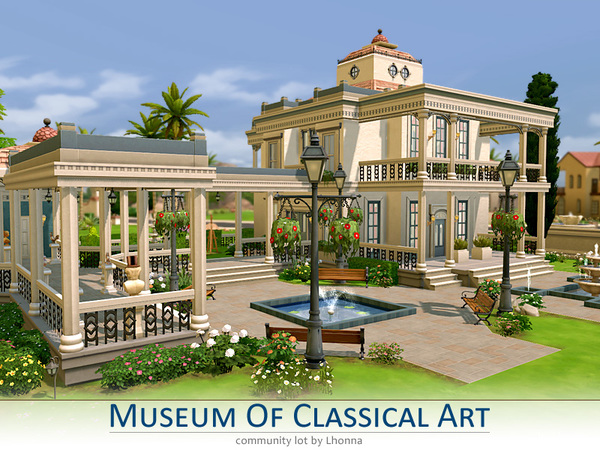 Museum Of Classical Art by Lhonna