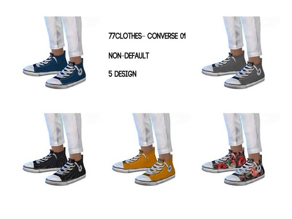 77clothes- converse by The 77 sims