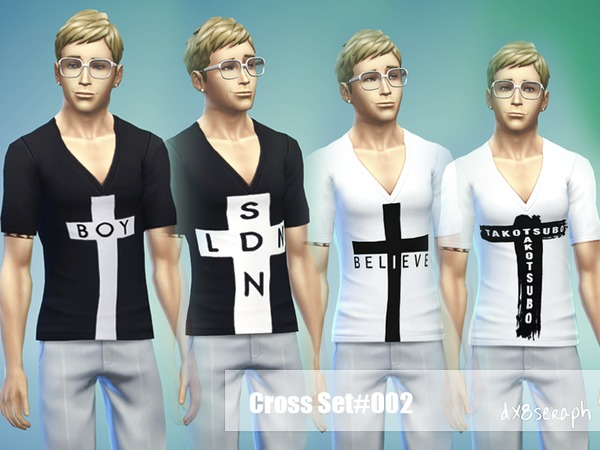Tee VDeep Set Cross#002 by dx8seraph