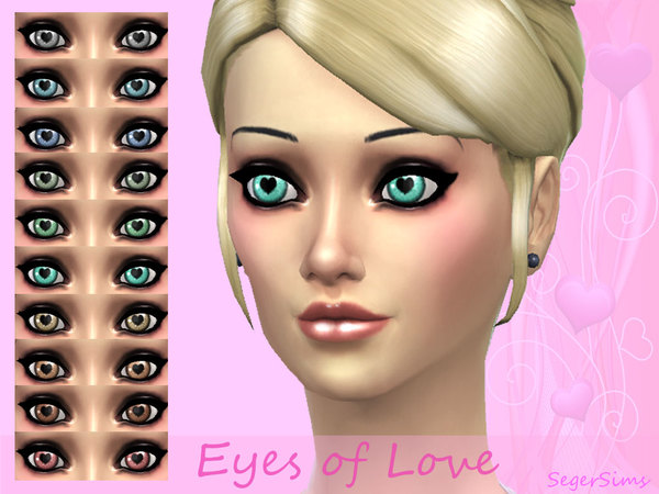 Eyes of Love by SegerSims