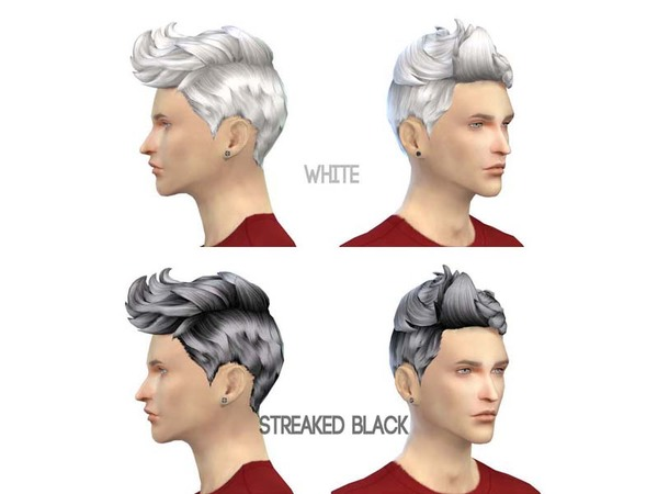 77Hair-S4 The plane head by The 77 sims