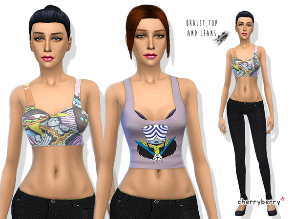 Sugar Free - Clothing set by CherryBerrySim