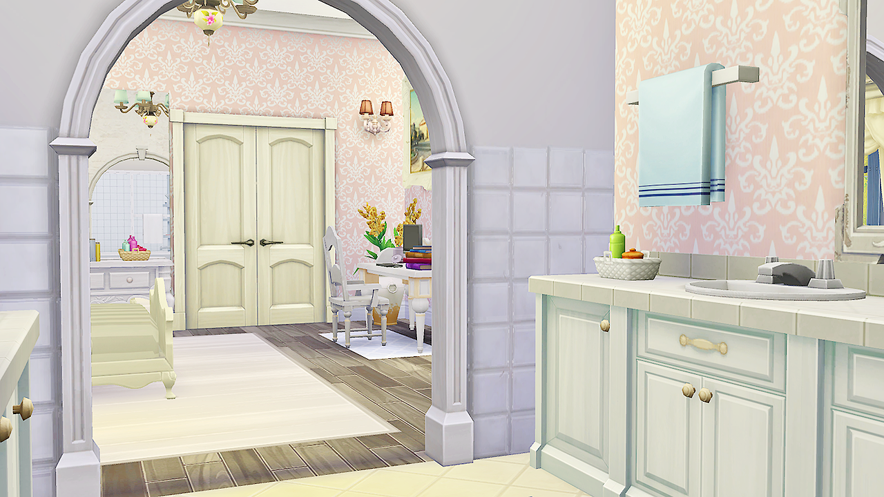 Felicity Guest Bed and Bath by Simkea