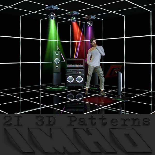 21 Patterns 3D by IMHO