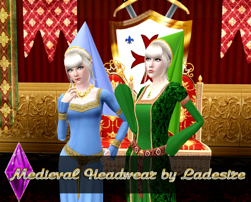 Medieval Headwear by Ladesire