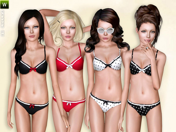 (Teen) Retro-Look Bikini by lillka