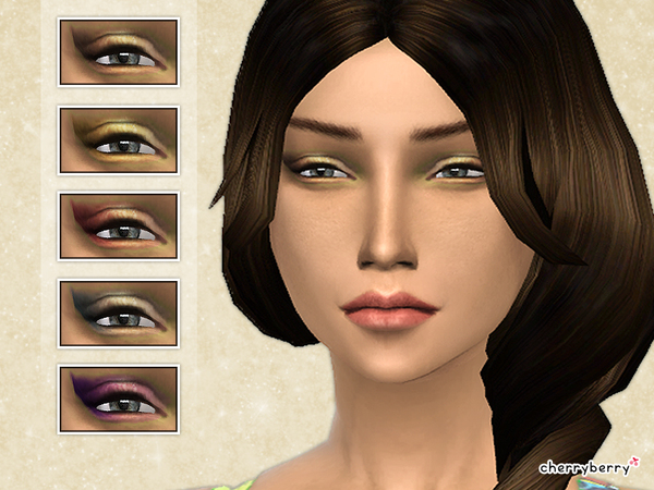 Shimmer eyeshadow by CherryBerrySim