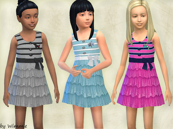 Sundress with ruffles by Wimmie