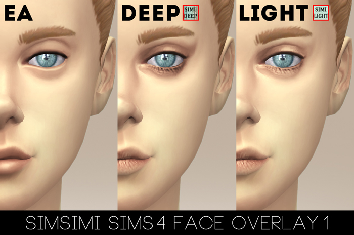 FACE OVERLAY1 (DEEP / LIGHT) by Simsimi