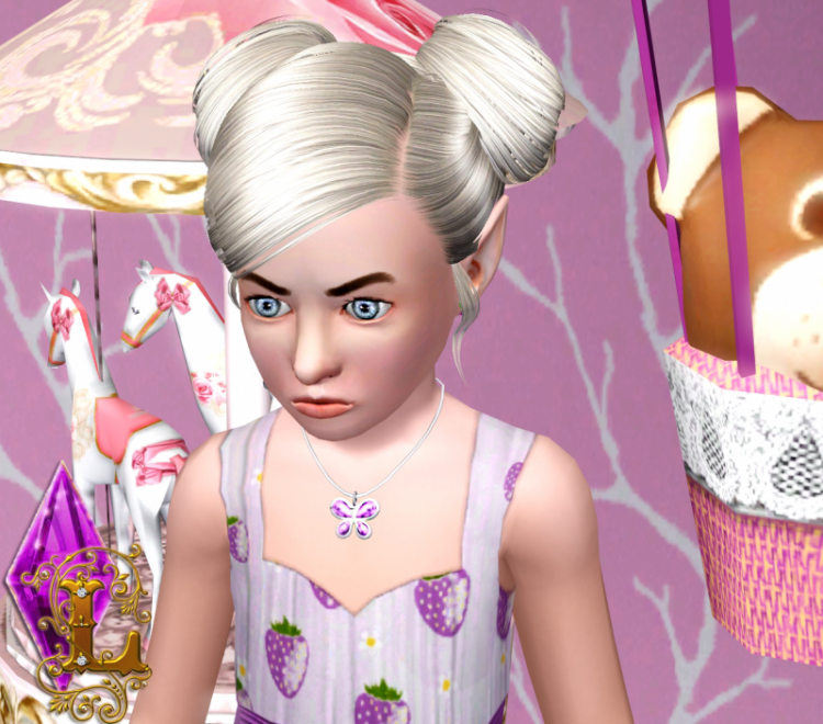 The Sims 4 pedants converted for The Sims 3 by Ladesire (kids&toddlers)