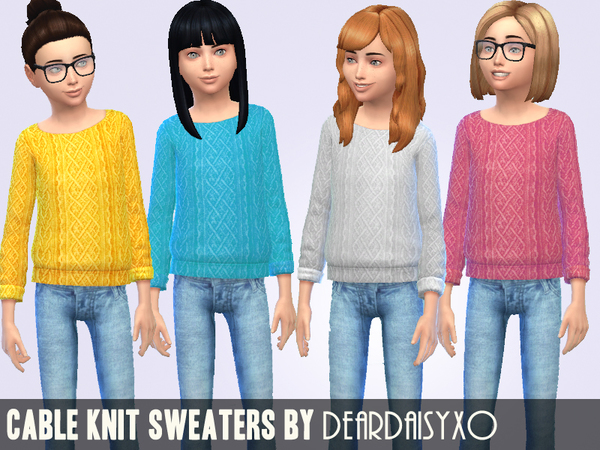 Cable Knit Sweaters by deardaisyxo