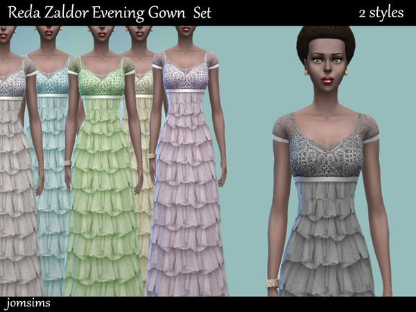 Reda zaldor Evening gown set. 2 dresses 2 styles by jomsims