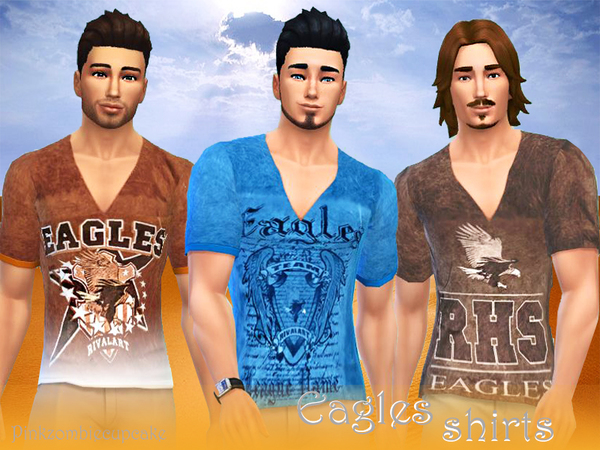Eagles spirit shirts by Pinkzombiecupcakes