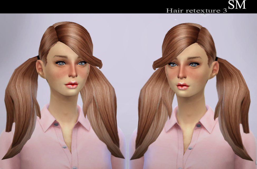 UKTrash Elena Hair Retextures by Simaniacos