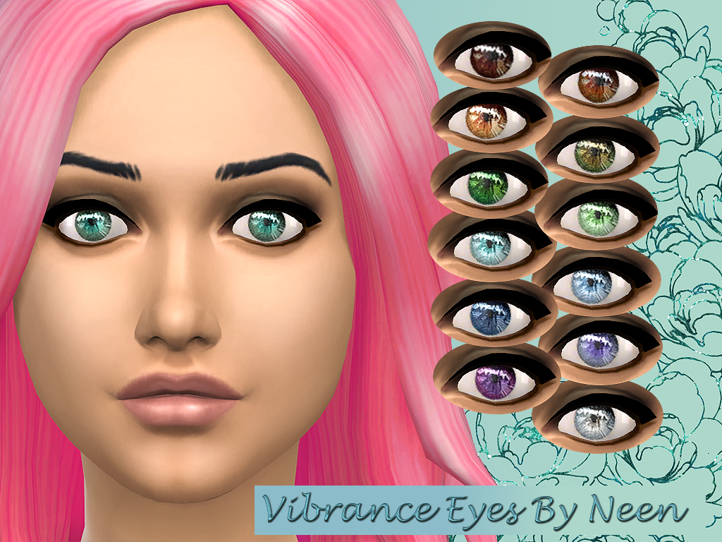 Vibrant Eyes - Non Default Bumper Set by Rock Chick