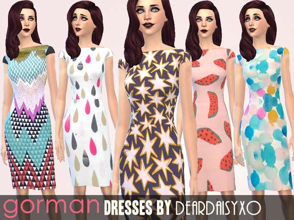 Gorman Fashion Collection by deardaisyxo