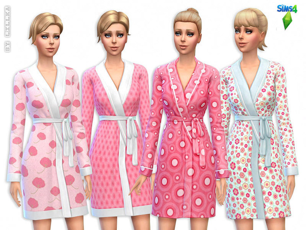 Cute Pink Bathrobes - Set by lillka