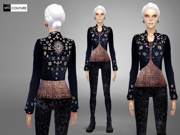 Embellished Short Jacket by MissFortune
