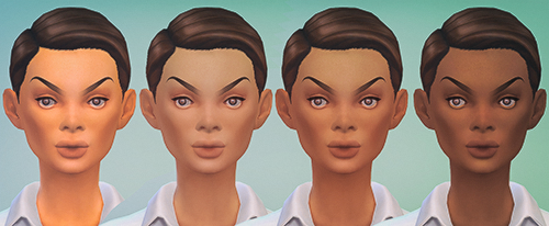 Baby Face Skin Detail by Supertrapb0lous