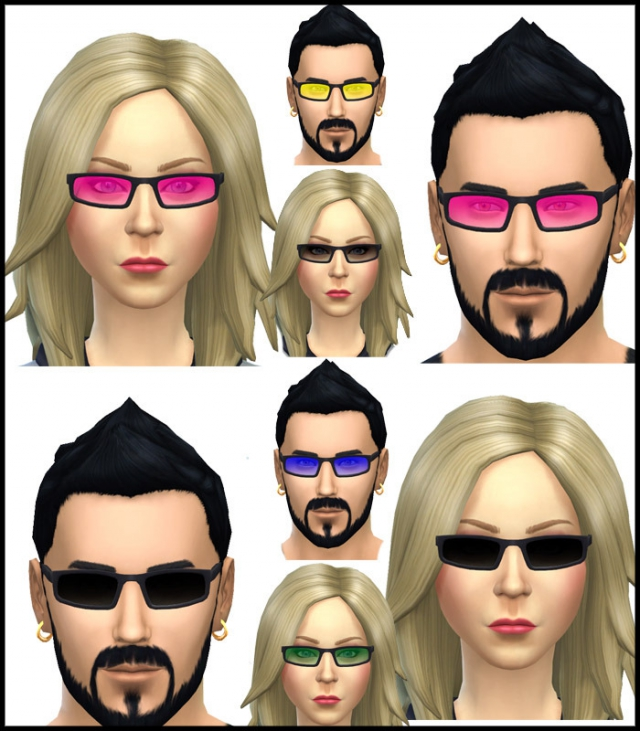 Sunglasses Pack 8 Colours by Simista