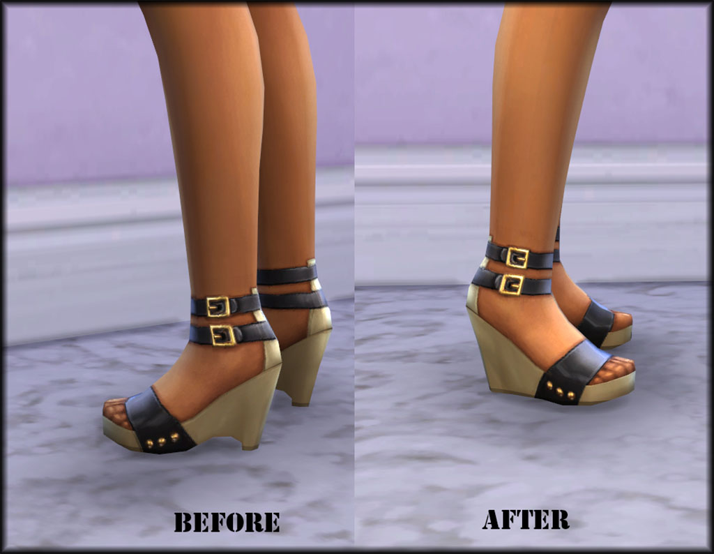 New High Wedges for Females by Julie J