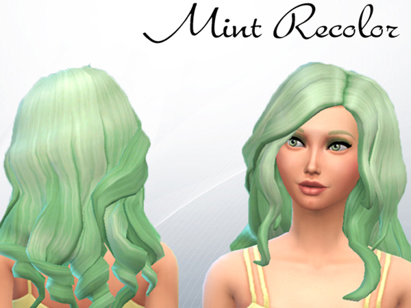 Curly Mint Recolor by KA-Sims