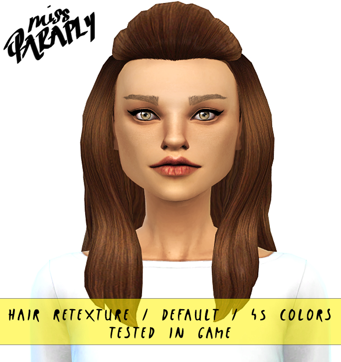 Hair Retextures by MissParaply
