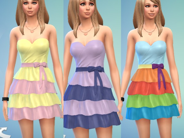 MLP Themed Dresses by Meline