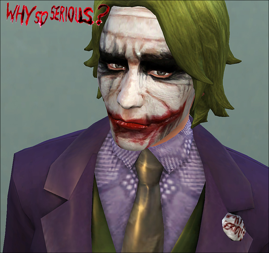 Heath Ledger as The Joker by Vampire_aninyosaloh