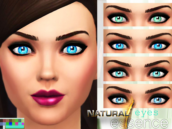 Natural essence eyes by Pinkzombiecupcakes