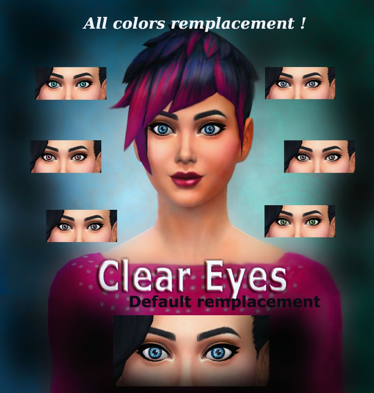 Clear eyes default at Simalicious