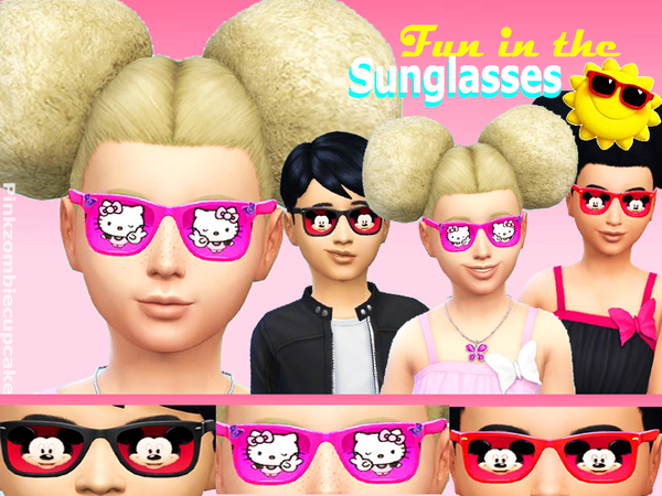 Fun in the sun sunglasses by Pinkzombiecupcakes