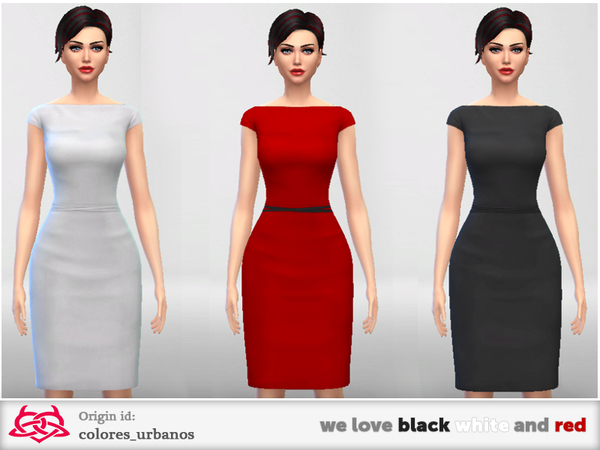 we love black white and red by Colores Urbanos