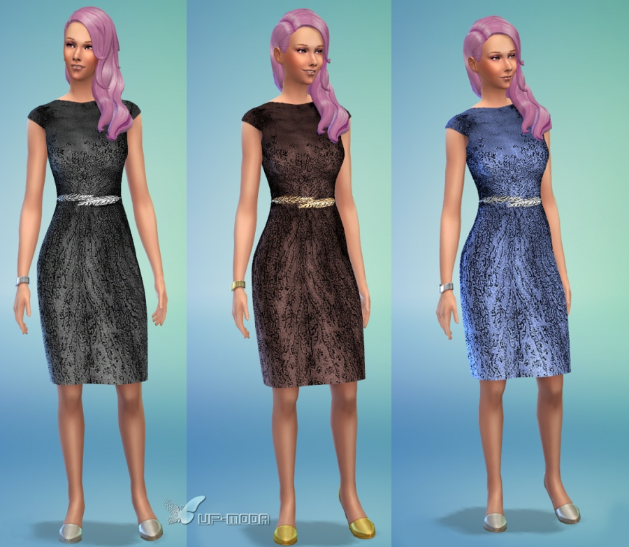 Rhapsody dress recolor by VitaV