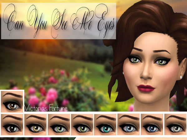 Can You See Me Eye Collection by fortunecookie1
