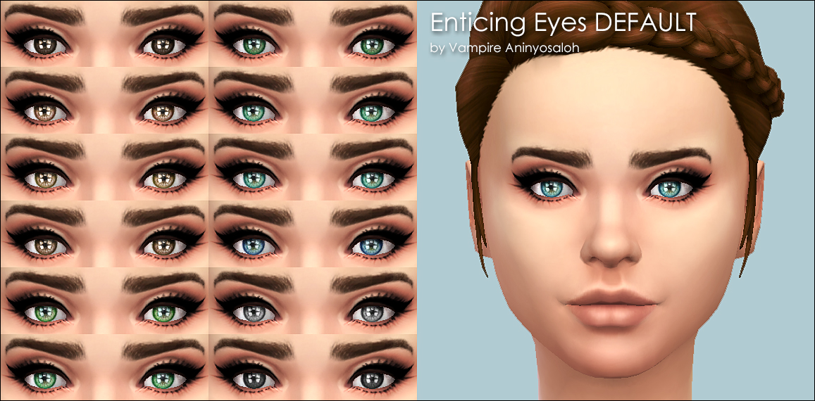 Enticing Eyes -20 colors- by Vampire_aninyosaloh