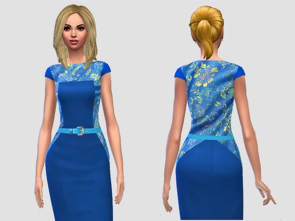 Chinese Silk Dress by Margeh-75