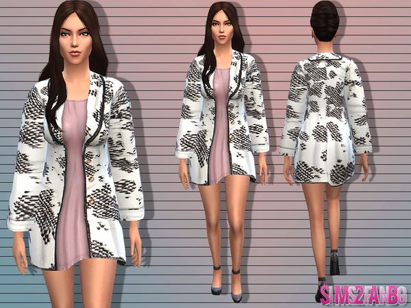 04 - Female coat by sims2fanbg