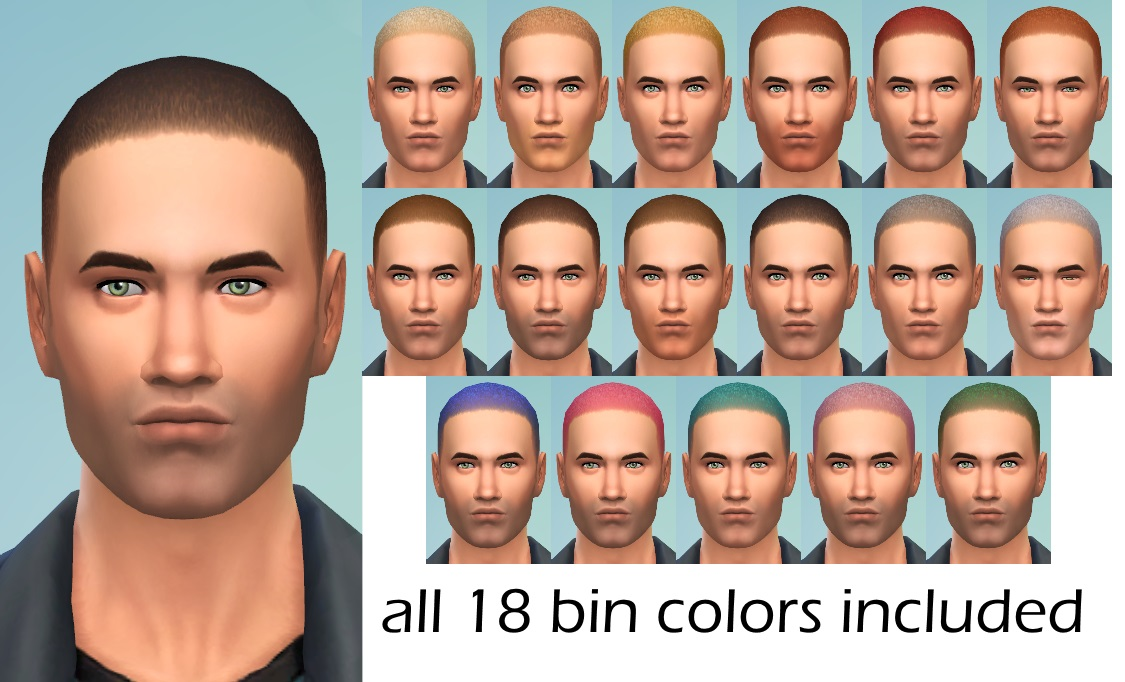 Short Stuff - Female to Male Hair Conversion by Spladoum
