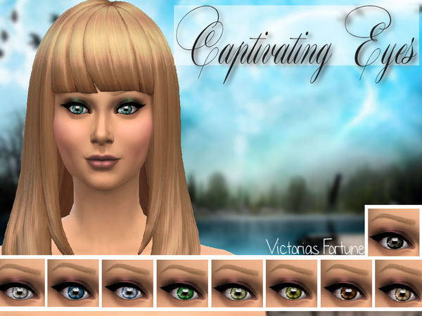 Victorias Fortune Captivating Eye Collection by fortunecookie1
