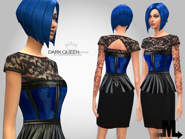 Dark Queen Dress by miraminkova
