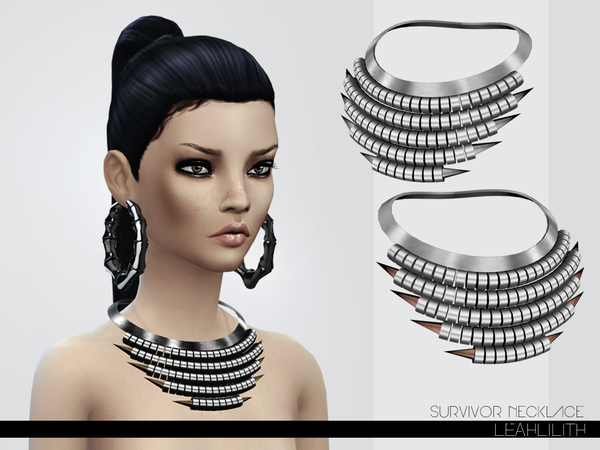 LeahLillith Survivor Necklace by Leah Lillith