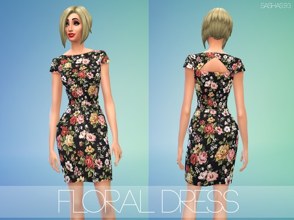 Floral dress by sashas93