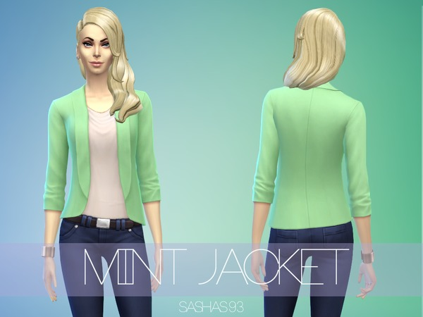 Mint Jacket by sashas93