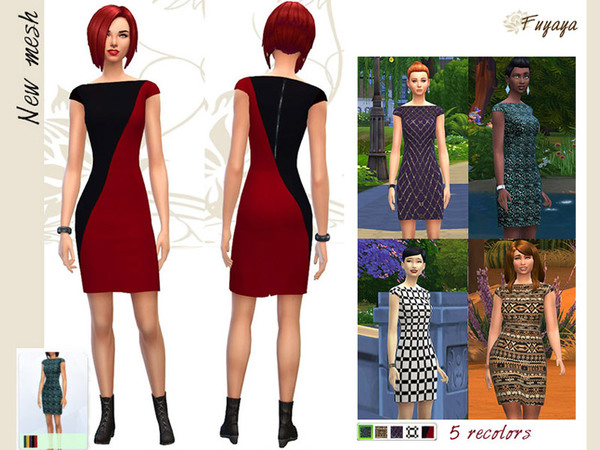 Dresses Geometry by Fuyaya