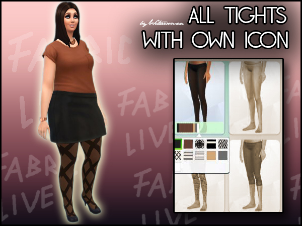 Walk that Line Tights by Waterwoman