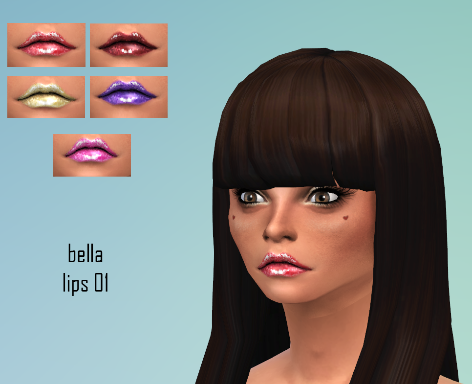 Bella Lips 01 by bella-sims