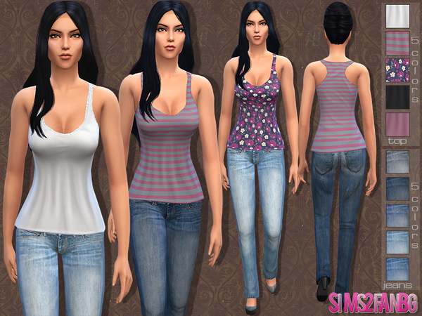 05 - Female casual set by sims2fanbg