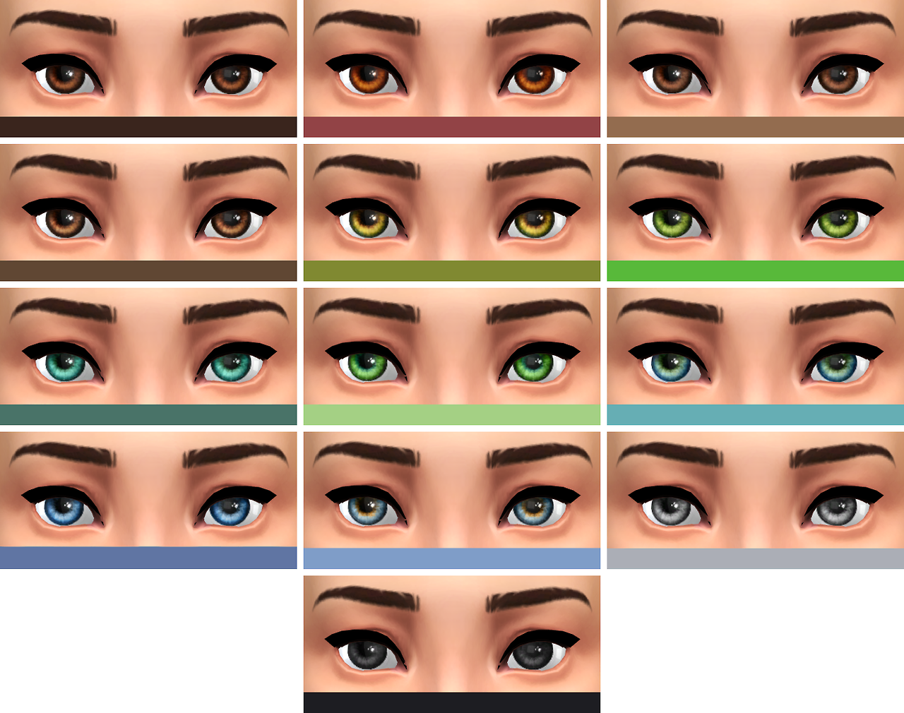Troublemaker Default Replacement Eyes by Notsocialbunny