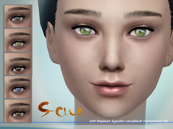 S-Club WM thesims4 eyecolor 02